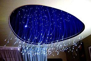 Звёздное небо натяжных потолков