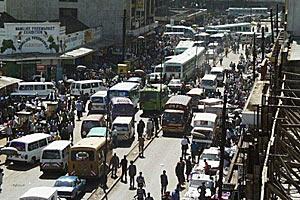 Автомобильные пробки — бич крупных городов
