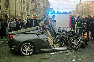 Ferrari, убитый на Кутузовском