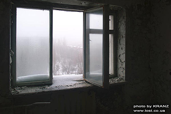 Зимняя оттепель в Припяти. (Евген (KRANZ) Гончаренко)