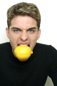 Василий Степанов с лимонами