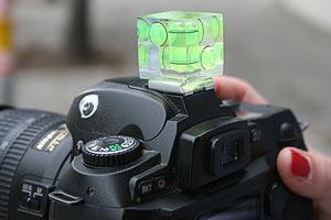 Трехмерный уровень для фотоаппарата.