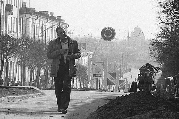 Центр города 20 лет назад. Орел. 1989 год.