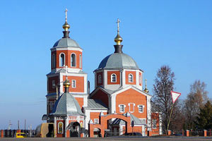 Православный храм. Малоархангельск. 2008 год.