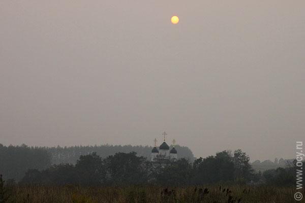 Солнце над болховским монастырём
