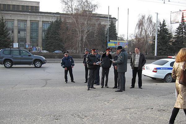 Милиция просвещается протестными прокламациями