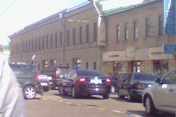 Москва, улица Покровка, 2010 год
