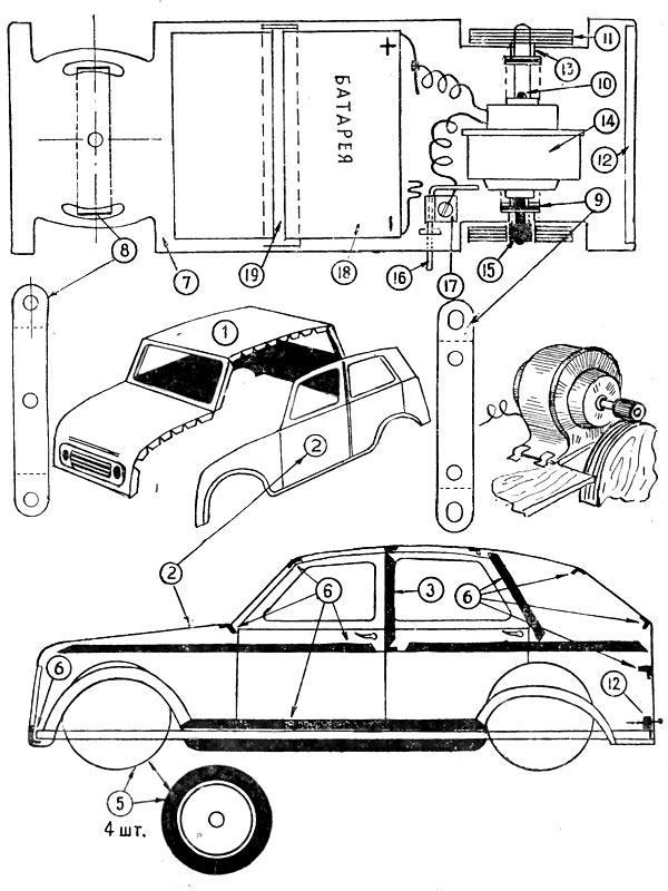 Как мы мастерили электромобили