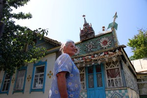 Кремль на крыше дома Зубовых
