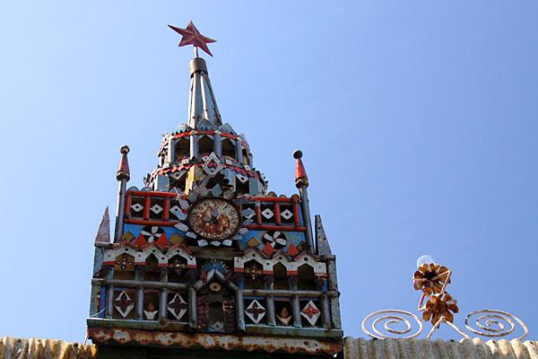 Медведево. Кремль на крыше