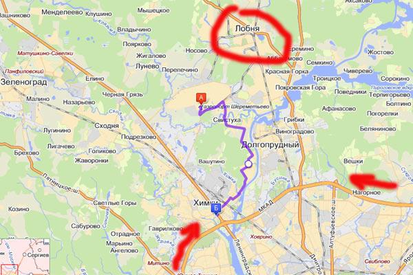 Объезд через Старбеево