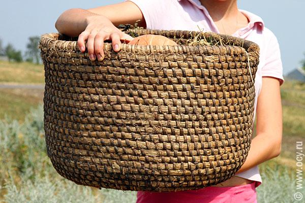 Сеянка — корзина для зерна и муки