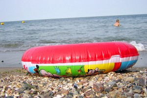 Спасательный круг на Чёрном море ам соннтаг.