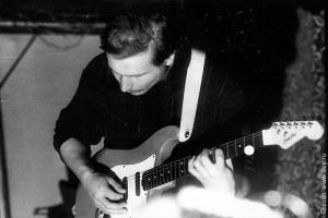 Ванечка Поляков, группа Вермут (г. Орёл). Фото начала 90-х.
