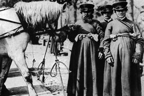 Русские извозчики начала ХХ века.