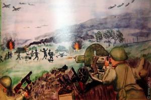 Дети рисуют войну.