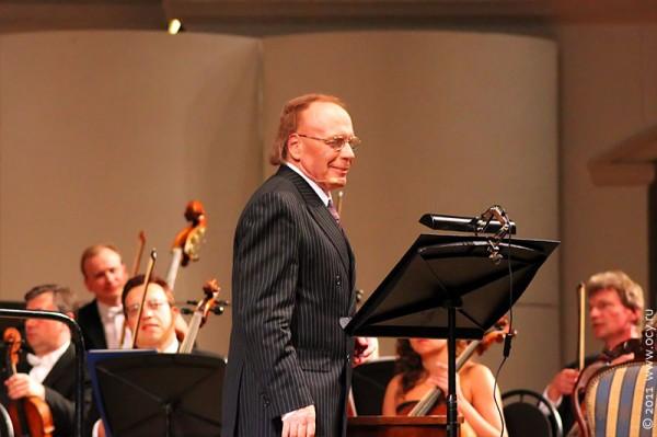Радзинский в концертном зале Чайковского.