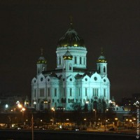Храм Христа Спасителя. Москва. 2011 год.