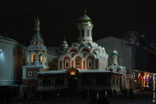 Казанский собор на Красной площади. Москва. 2011 год.