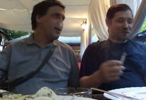 Рассуждалки в ресторане. 2012 год.
