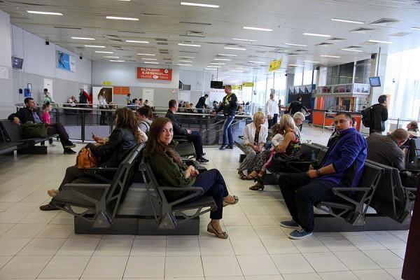Весь терминал B Шереметьево в одном снимке.