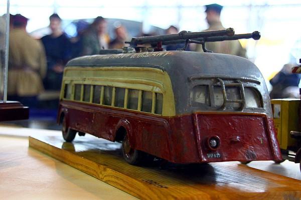 Модель троллейбуса. Подарок Сталину, Польша.