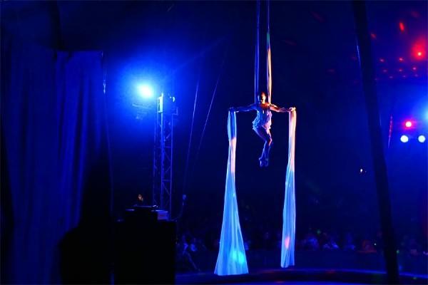 Цирк Арена. Воздушная гимнастка.
