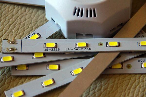 Лампа Octagonal LED Ceiling Lamp Fixture, общий вид.