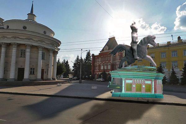 Проект памятника Грозному в Орле.